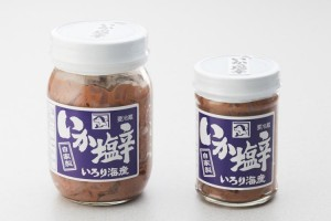 いか塩辛(大) 360g 1,100円 / (小) 150g 680円