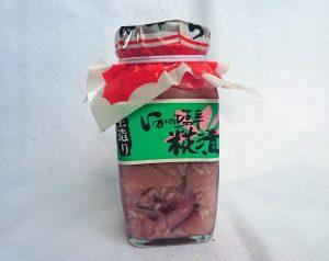 いかの塩辛 糀漬 260g 1,080円