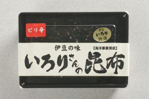 いろりさんの昆布 ピリ辛(150g) 650円
