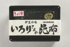 いろりさんの昆布 ちょい辛(150g) 650円