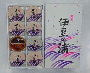 伊豆の渚(大)12ヶ入 1,080円 / (小)8ヶ入 760円