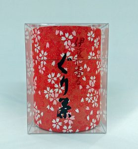 ぐり茶和紙缶(50g) 650円